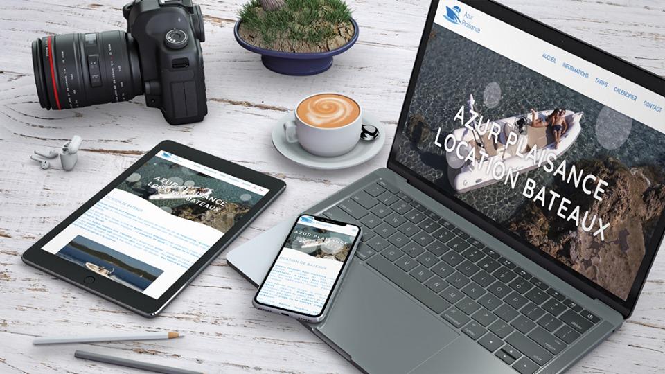 azur plaisance site web